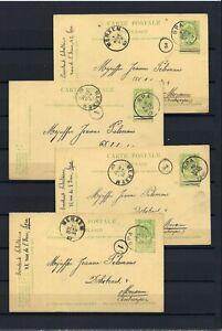[LG16132] Belgium Nice lot Postal cards UNG