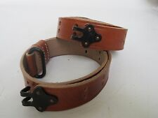 US ARMY m1907 m1 Garand 1903 1903a3 Springfield 1907 Leather Rifle Sling Steel
