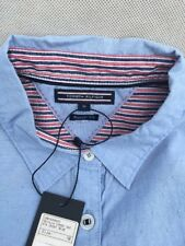 Tommy Hilfiger Donna Sevilla Combinazione Camicia Blu Taglia 10