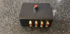 ASPHO4 Audio switcher RCA phono connectors, switch between 4 stereo devices