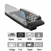 HUD OBD2 Head Up Car GPS Digital Display L3 Digital Car Overspeed Warning Alarm