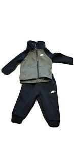Nike NSW Tech Fleece Essential Tech Pack 2 Piece Set Toddler Boys Size 12 Month
