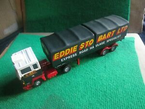CORGI EDDIE STOBART FORD TRUCK & TRAILER (1:50 SCALE) LOT B93