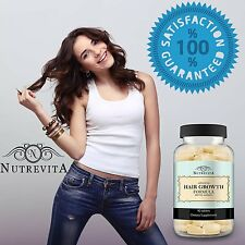 90 Tablet Vitamins Pills Stop Hair Loss Faster Hair Growth Health Care Beauty