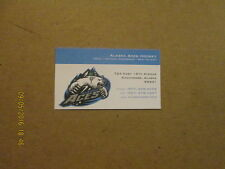 ECHL Alaska Aces Vintage Logo Hockey Business Card