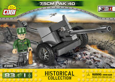 Cobi 2398 - Small Army - WWII German 3in Pak 40 - New