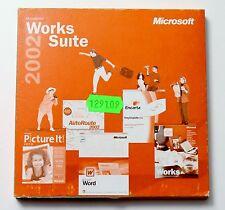 Microsoft  Works Suite 2002, u.a. mit Word 2002 ,  Deutsch