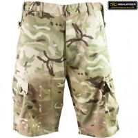 "HIGHLANDER ELITE HMTC SHORTS MENS 28-48"" WAIST BRITISH ARMY MTP S95 STYLE CARGO"