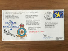 SIGNED FLOWN FIRST DAY COVER SQUADRONS OF THE ROYAL AIR FORCE 13/10/1992