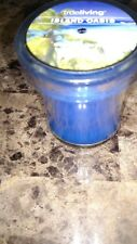 Island Oasis Scented 3 oz. Votive Candle in Glass Holder