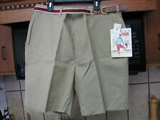 1980s vintage preppy casual shorts with Belt New old store stock Par-four!