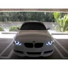 BRIGHT BMW E87 E90 E92 E93 E70 X5 LED White Angel Eye Halo Rings Parking Lights