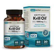 Neptune Krill Oil by DailyNutra - High Absorption Omega-3 EPA DHA & Astaxanthin