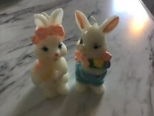 Vintage Easter Bunny Candles Mint Retro 1960's?