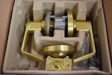 Schlage AL53LD SAT 606 Entry Lever Satin Brass NIB Less Cylinder