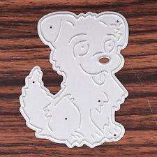 Dog Metal Cutting Dies Stencil Diy Scrapbook Album Paper Card Embossing Crafts
