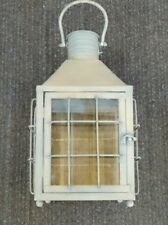 Sphere Large Rustic Blue Lantern Candle Holder, BNIB, BD, Home,Lighting,Decor(M)