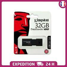 KINGSTON Clé USB stockage 32 go USB 3.0 100% ORIGINAL 32 GB FLASH DRIVE