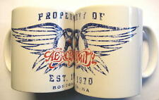 "AEROSMITH TASSE ""ESTABLISHED 1970"" KAFFEETASSE - MUG"