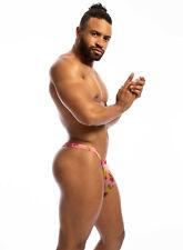 N2N Bodywear Men pink Daizy Dayz mesh G-string thong Underwear M L XL