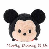"New Disney Store Tsum Tsum Mini Plush 3.5"" Mickey Mouse Toy Doll Soft"