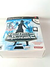 Dance Dance Revolution SuperNova2 Bundle Game + Mat, Controller & Game Untested