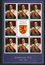Gambie 2012 MNH rois & reines d'Angleterre Edouard VII 8v M/S Royalty timbres