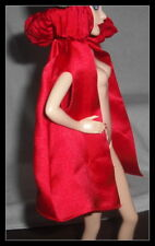 TOP BARBIE MATTEL MODEL MUSE DOLL LITTLE RED RIDING HOOD  RED  CAPE COAT JACKET