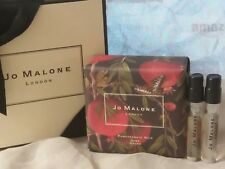 NIB JO MALONE POMEGRANATE NOIR BATH SOAP + RANDOM PERFUME SAMPLE VIALS 2 PCS