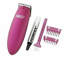 BaByliss Forfex Pro Palm Battery Operated Trimmer Pink FX44MU