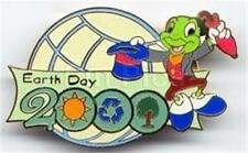 Jiminy Cricket Earth Day Sun Recycle Tree 2000 Le Disney Pin