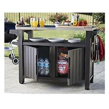 Keter Unity Xl – Entertainment Storage Unit Outdoor Garden BBQ Weather Resistant