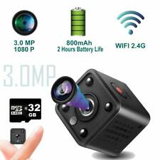 Mini Spy wifi Camera – Wireless Hidden Surveillance Cam Night Vision 1080p 32gb