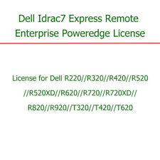 Dell iDRAC7 Enterprise for PowerEdge R320 R420 R520 R620 R720 R720xd R820 R920