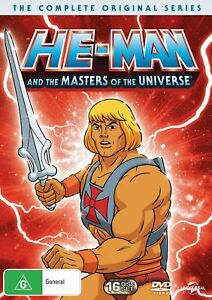 He Man and the Masters of the Universe Complete Original Series Box Set DVD NEW
