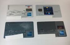 4 Expired Credit Cards For Collectors - American Express Lot (7085)