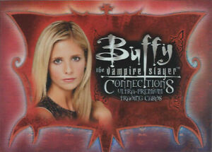 2003 Buffy Vampire Slayer Connections Complete 72 Card Base Set Angel Wrapper