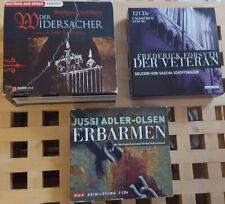 3 Hörbücher Konvolut ( Thriller )