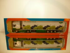 TEKNO HOLLAND SCANIA TRUCK + COOLED TRAILER  - GREENERY 1:50 - EXCELLENT IN BOX