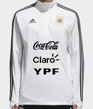 Adidas AFA Argentina 2018  WHITE Training Sweat Shirt LARGE