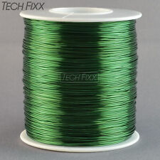 Magnet Wire 24 Gauge AWG Enameled Copper 792 Feet Tattoo Coil Winding 155C Green