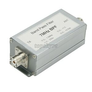 7MHz Band Pass Filter Bandpass Filter Anti-Interference Improved Receiving 200W