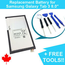 Samsung Galaxy Tab 3 8.0 Replacement Battery T310/T4450E with FREE TOOLS 4450mAh
