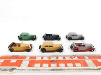 CG235-0,5# 6x Brekina H0/1:87 PKW-Modell Wanderer: Cabrio/Cabriolet etc, TOP