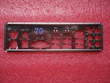 IO I/O Gigabyte SHIELD BACKPLATE GA-MA770-S3 REV:1.0,GA-MA770-S3 (rev. 1) #54 XH