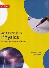 Collins AQA GCSE Physics 9-1 Grade 5 Booster Workbook BRAND NEW BOOK (P/B 2016)