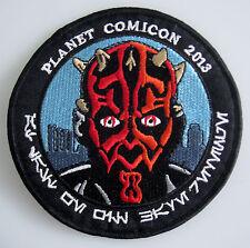 Star Wars - Darth Maul - Planet Comicon 2013 - Uniform Aufnäher zum Aufbügeln