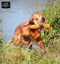 "AVERY OUTDOORS SPORTING DOG 2"" ORANGE HEXA-BUMPER DOG TRAINING RUBBER DUMMY"