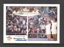 Lesotho 1990 Barcelona '92 OLYMPICS/Sport m/s (n13890)