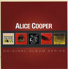 Alice Cooper ORIGINAL ALBUM SERIES Love It To Death NEW SEALED BOX SET 5 CD